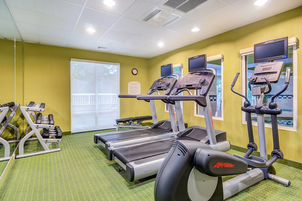 Fitness Facility, Fairfield Inn & Suites by Marriott Worcester Auburn