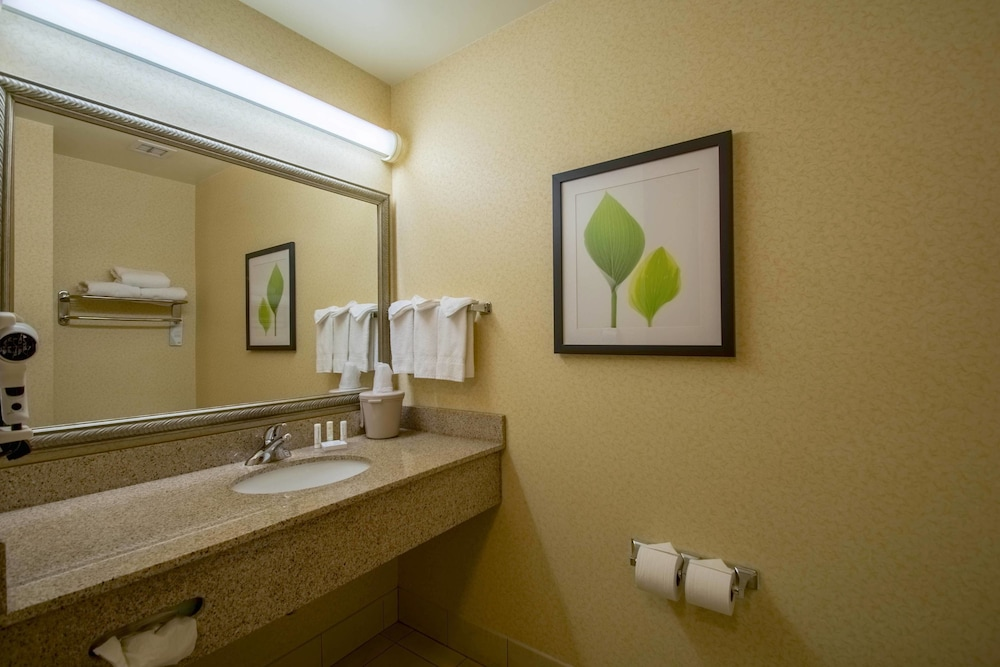 Bathroom, Fairfield Inn & Suites by Marriott Worcester Auburn