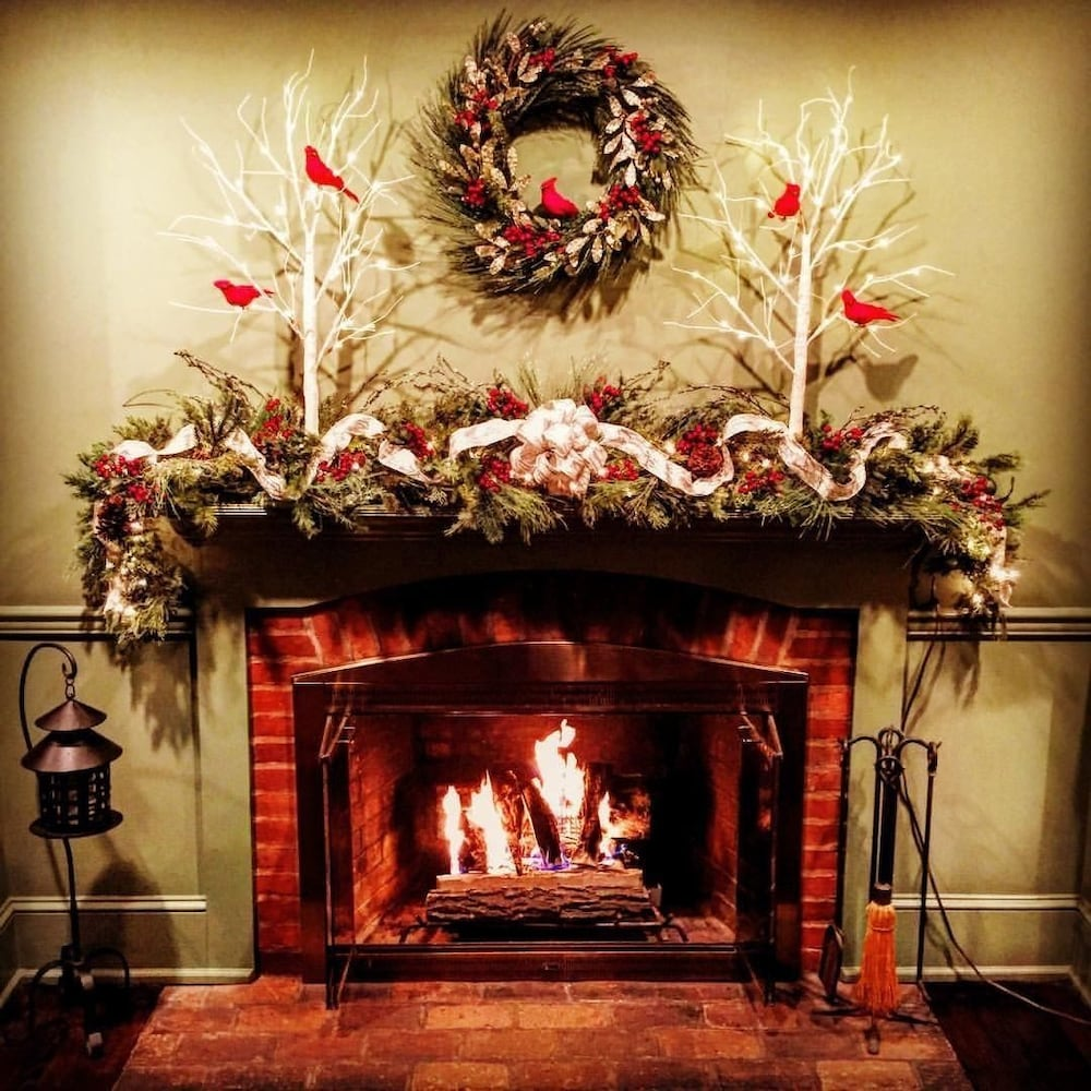 Fireplace, The Inn At Turkey Hill