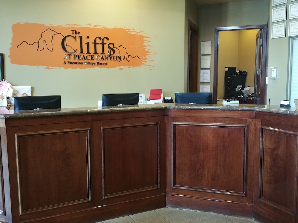 Check-in/Check-out Kiosk, The Cliffs at Peace Canyon