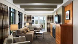 1 間臥室、高級寢具、羽絨被、特厚豪華床墊