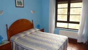17 dormitorios, colchones con acolchado adicional, escritorio