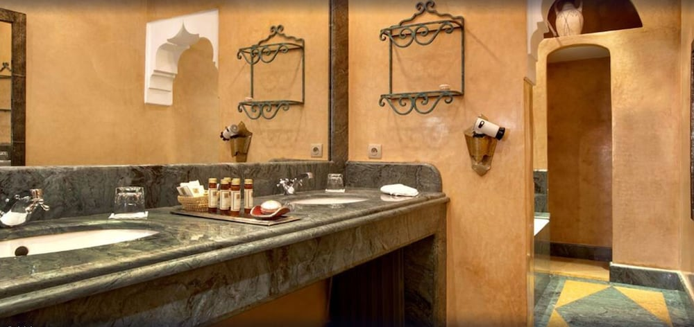 Bathroom Sink, La Maison Arabe Hotel, Spa and Cooking Workshops