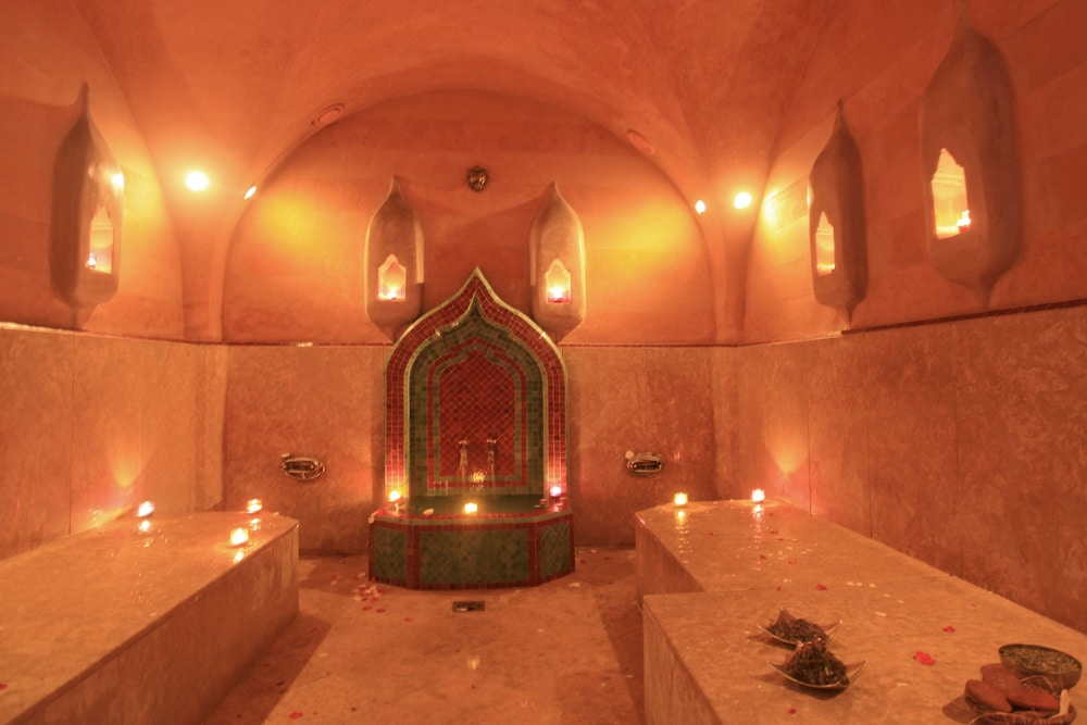Turkish Bath, La Maison Arabe Hotel, Spa and Cooking Workshops