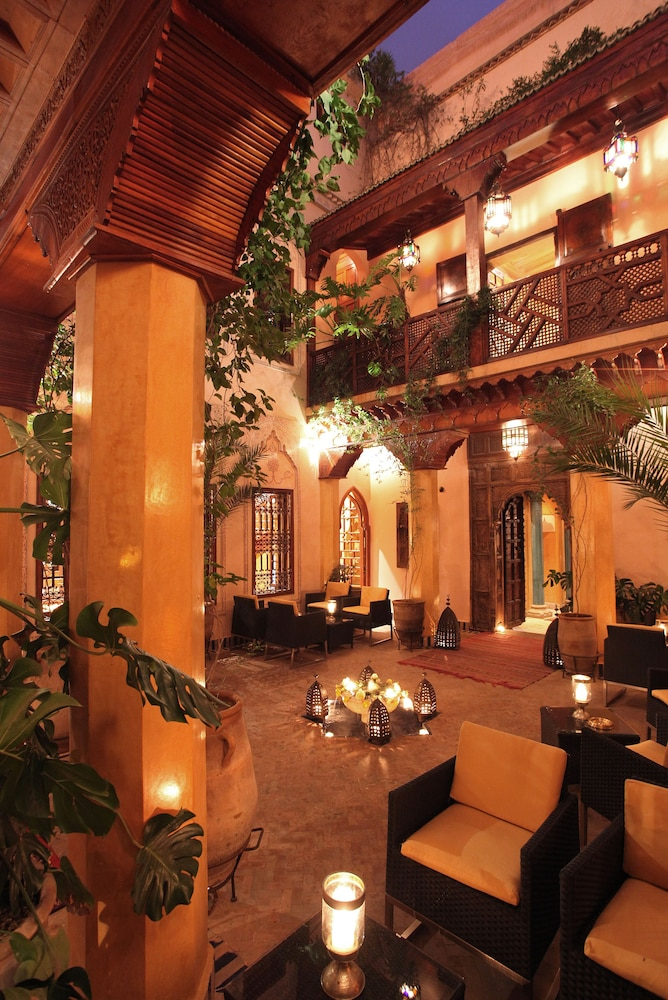 Lobby, La Maison Arabe Hotel, Spa and Cooking Workshops