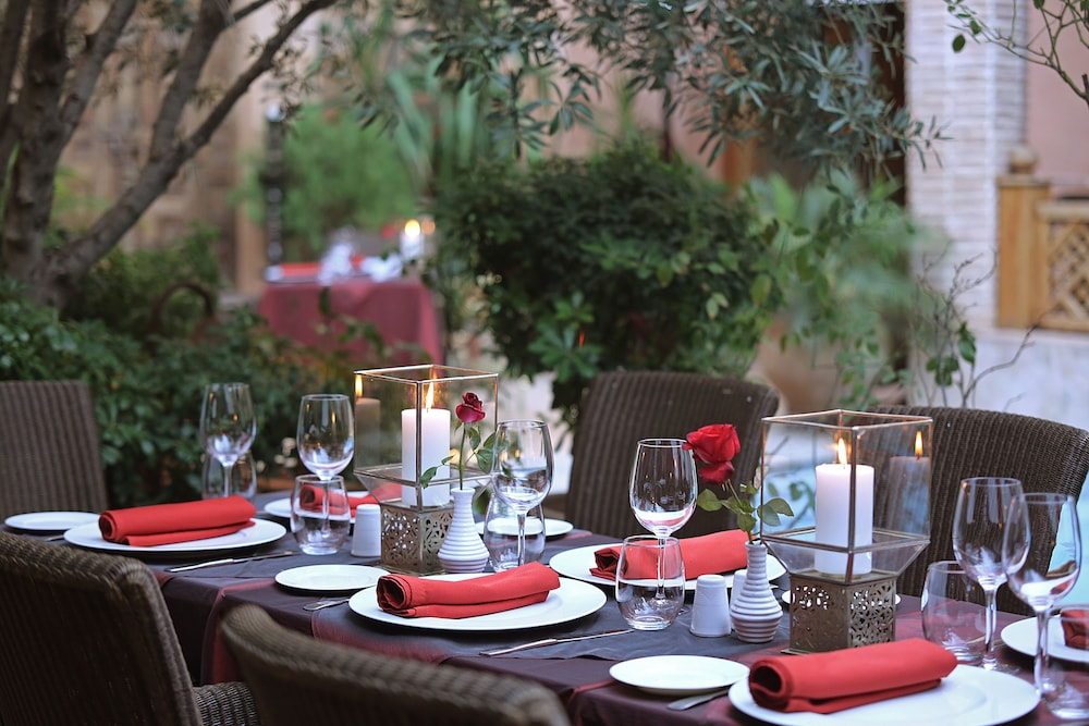 Restaurant, La Maison Arabe Hotel, Spa and Cooking Workshops