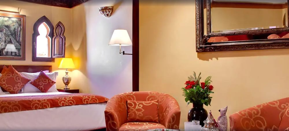 Room, La Maison Arabe Hotel, Spa and Cooking Workshops