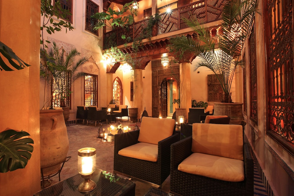 Lounge, La Maison Arabe Hotel, Spa and Cooking Workshops