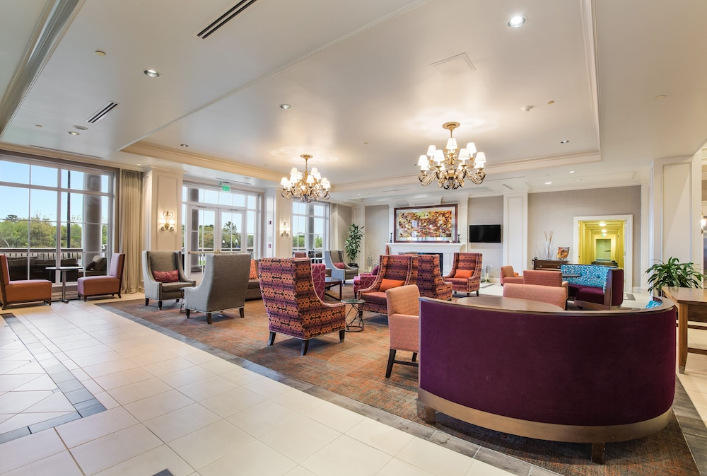 Reception, Hilton Garden Inn Suffolk Riverfront