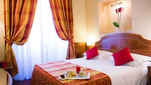 Egyptian cotton sheets, minibar, in-room safe, desk
