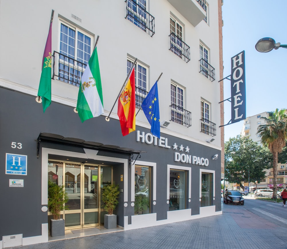 Book hotel don paco malaga hotel deals for Hotels malaga