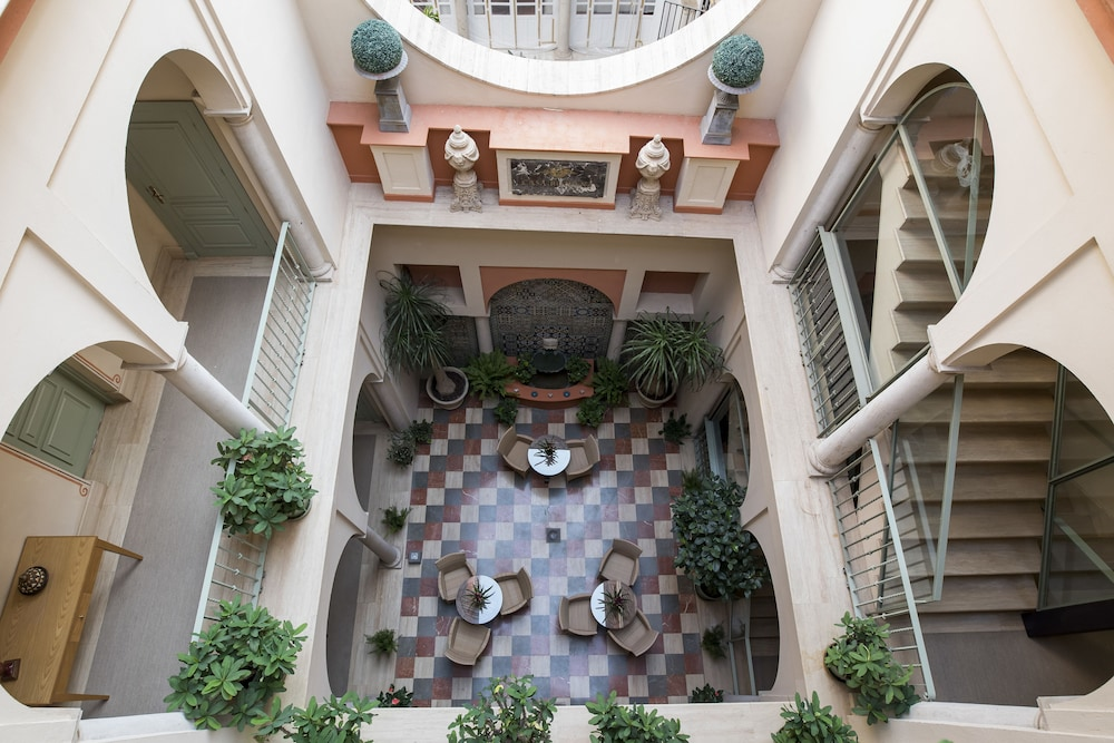 Terraza o patio casa romana hotel boutique