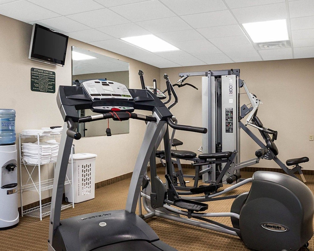 Fitness Facility, Quality Inn & Suites Conference Center and Water Park