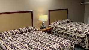 Premium bedding, pillowtop beds, individually furnished, desk