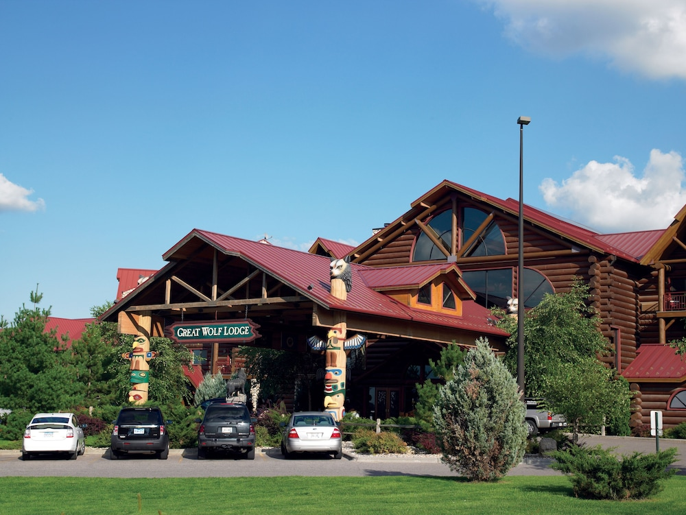 Front of Property, Great Wolf Lodge Wisconsin Dells