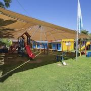 Lekområde för barn utomhus