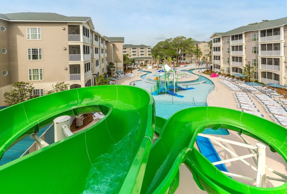 Waterslide, Holiday Inn Club Vacations South Beach Resort