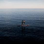 Vue sur la plage/la mer