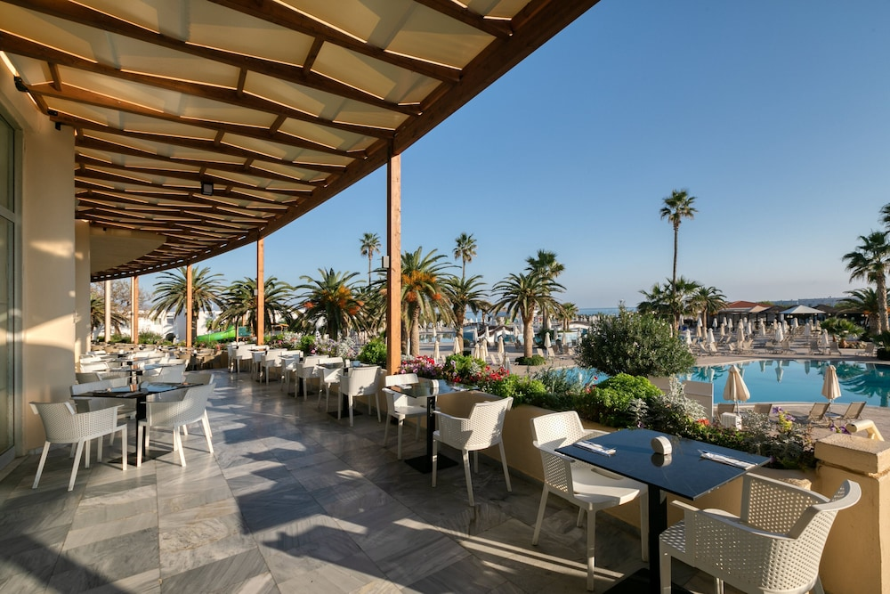 Terrace/Patio,  Louis Creta Princess Aquapark & Spa