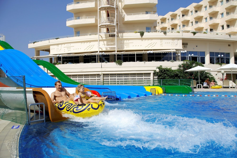 Outdoor Pool,  Louis Creta Princess Aquapark & Spa