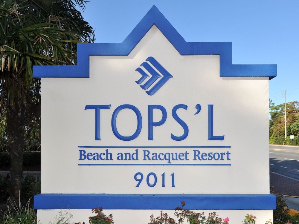Property Entrance, Tops'l Beach & Racquet Resort by Vacasa