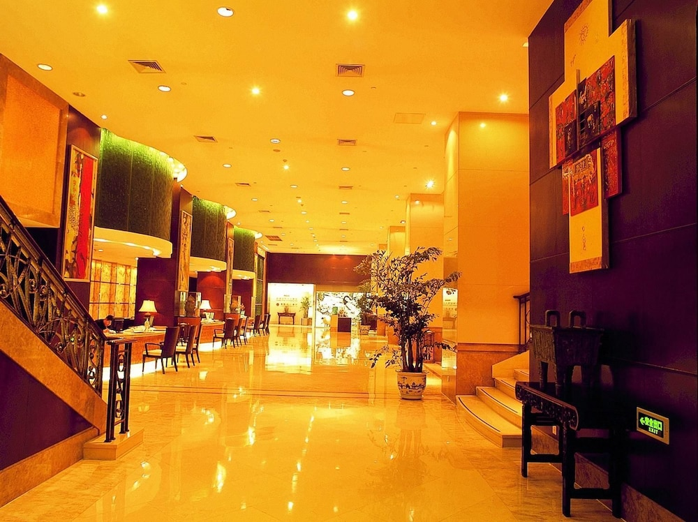 Overseas Chinese Hotel Wenzhou 5 0 Out Of Featured Image Lobby