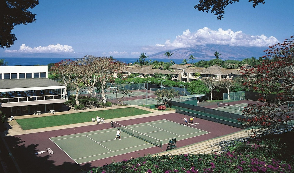 Tennis Court, Wailea Grand Champions Villas, A Destination Residence