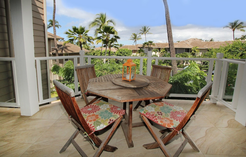 Balcony, Wailea Grand Champions Villas, A Destination Residence