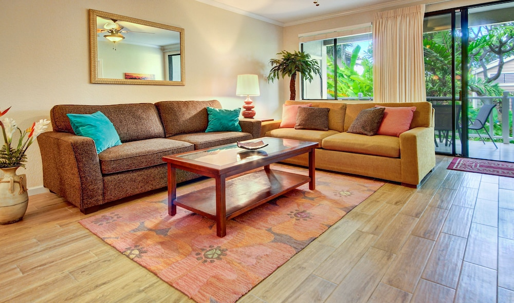 Living Area, Wailea Grand Champions Villas, A Destination Residence
