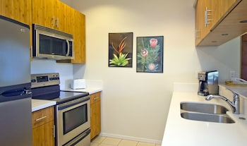 Condo, 1 Bedroom, 2 Bathrooms, Garden View - In-Room Kitchen