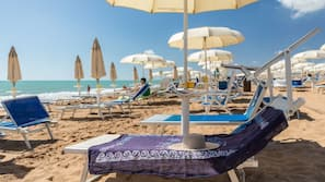 Spiaggia privata, windsurf, vela