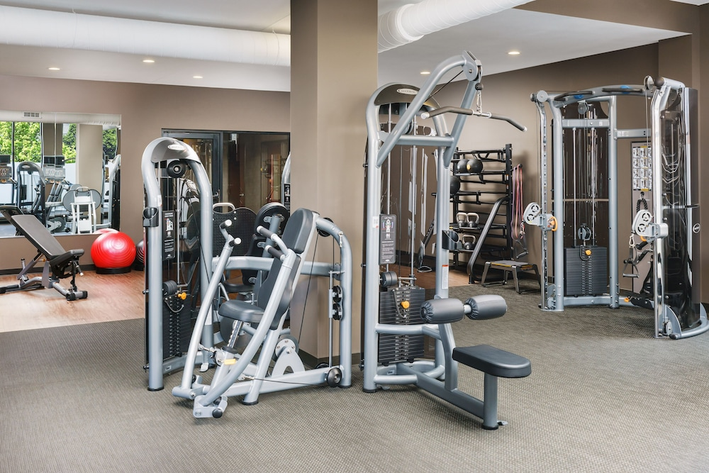 Fitness Facility, Courtyard by Marriott Boston-South Boston