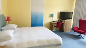 1 chambre, coffres-forts dans les chambres, bureau