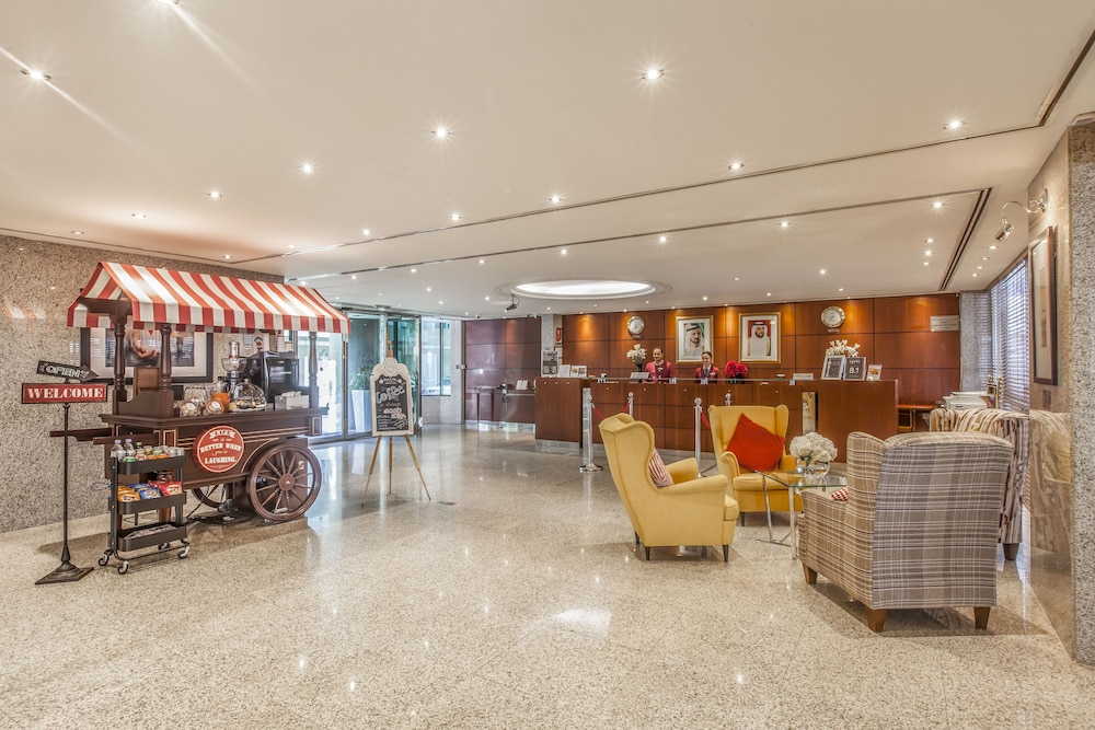 Reception, Golden Sands Hotel Apartments