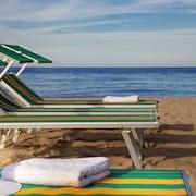 Vista spiaggia/mare