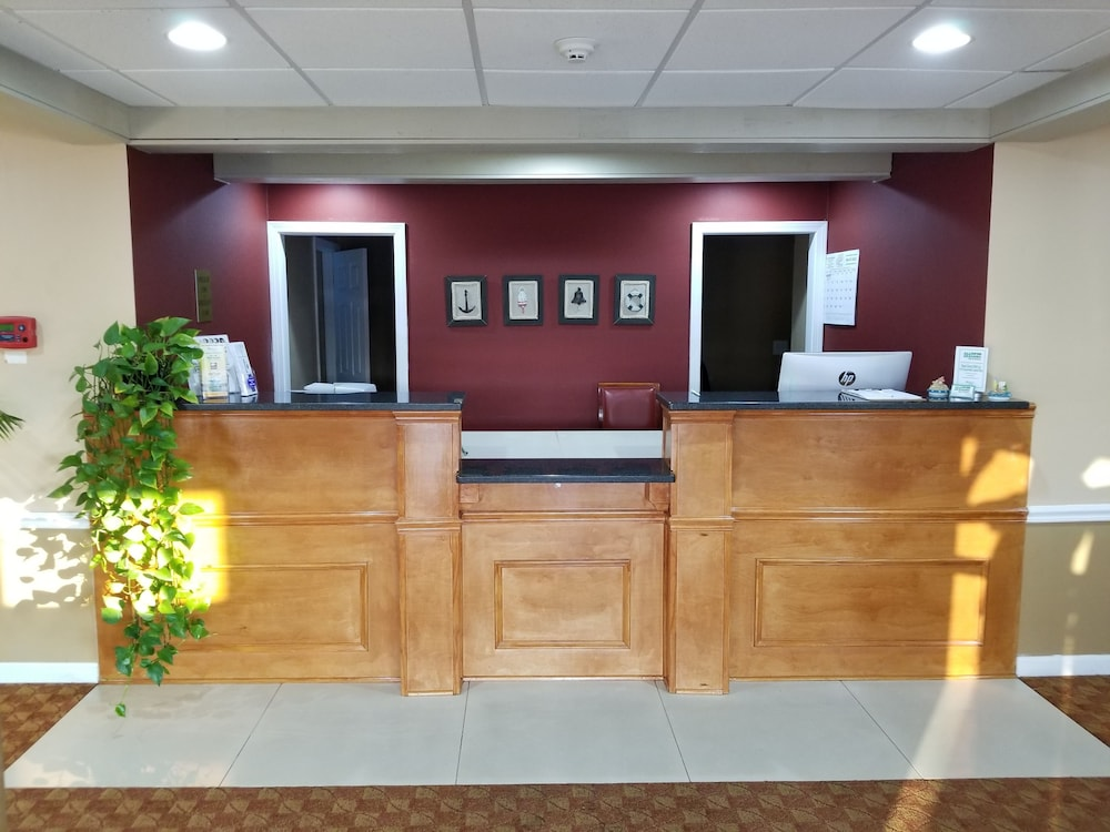 Reception, All Seasons Inn and Suites