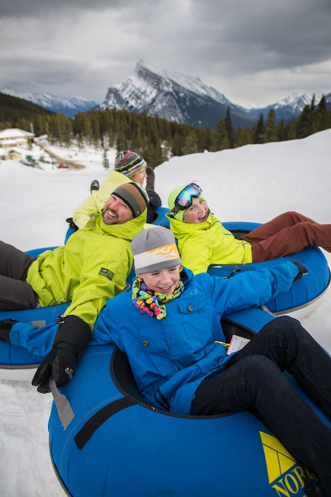Snow tubing, The Juniper Hotel