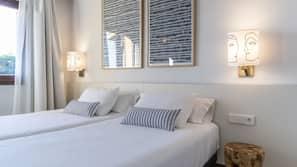 1 dormitorio, caja fuerte, tabla de planchar con plancha y wifi gratis
