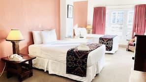 1 bedroom, individually furnished, desk, bed sheets
