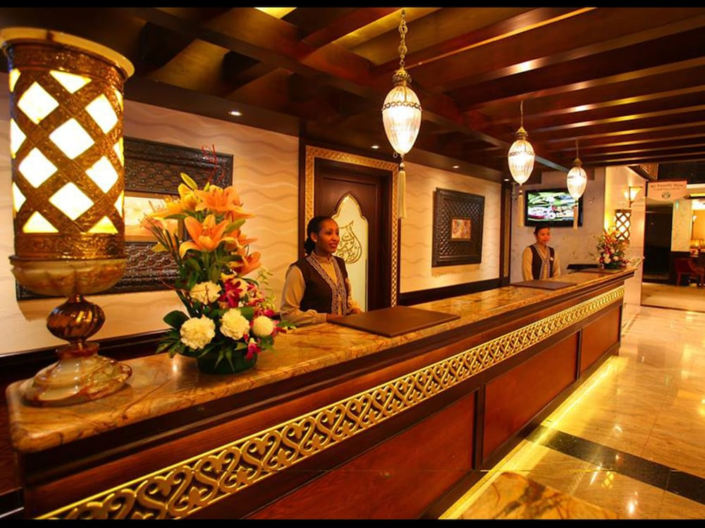 Reception, Arabian Courtyard Hotel & Spa