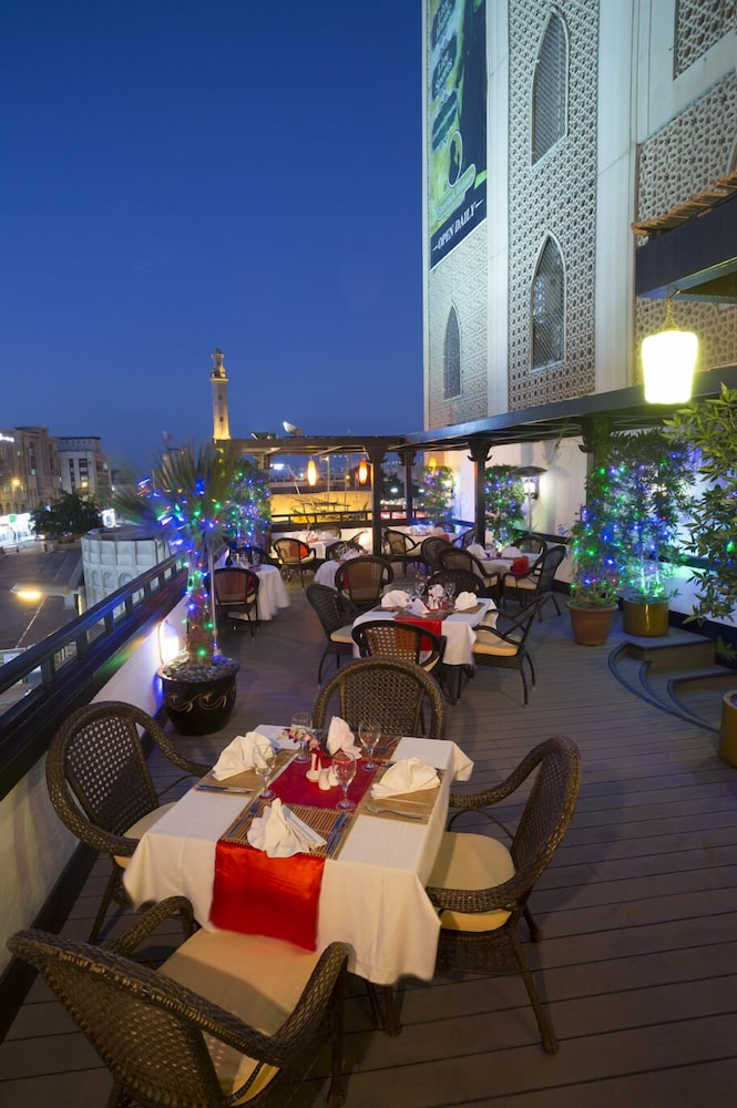 Outdoor Dining, Arabian Courtyard Hotel & Spa