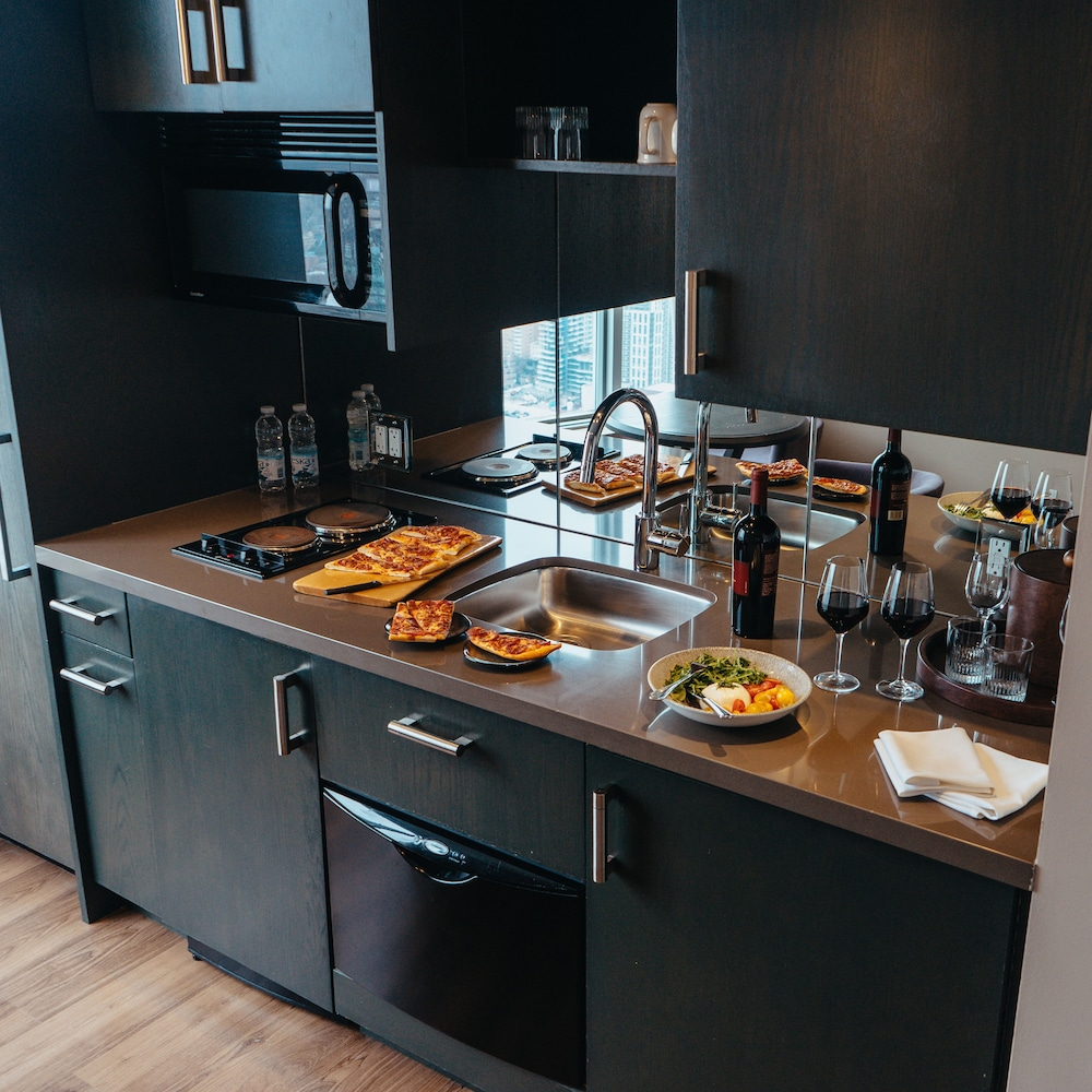 Private Kitchenette, One King West Hotel & Residence
