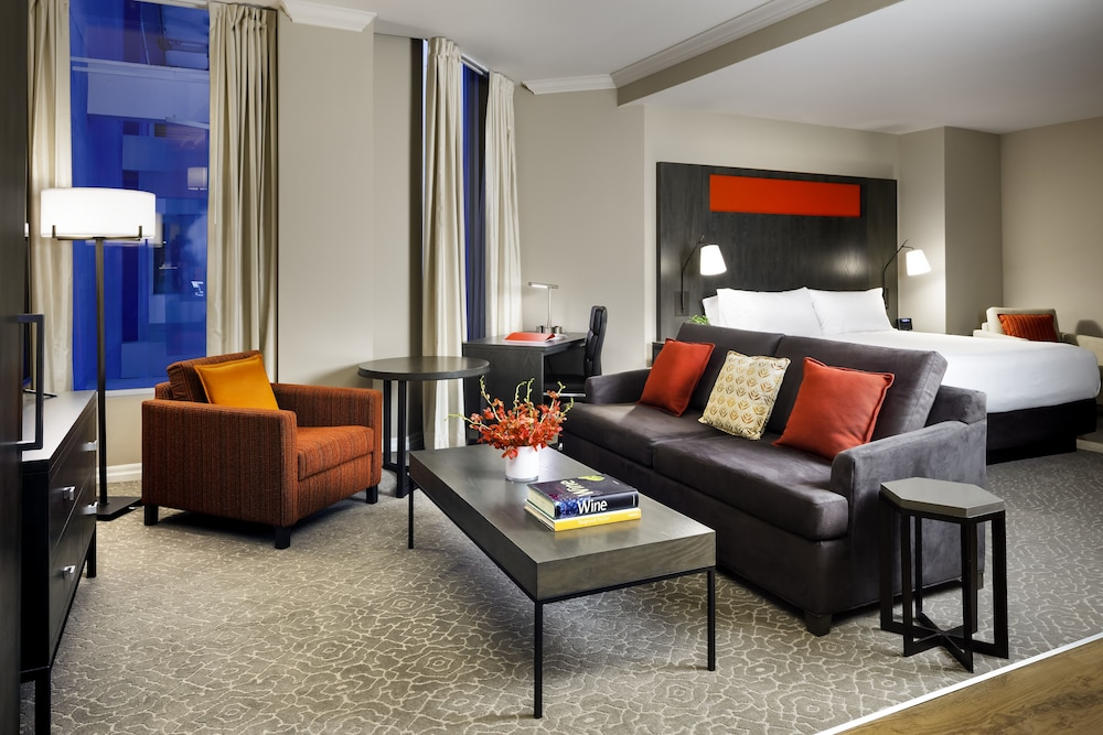 Living Area, One King West Hotel & Residence