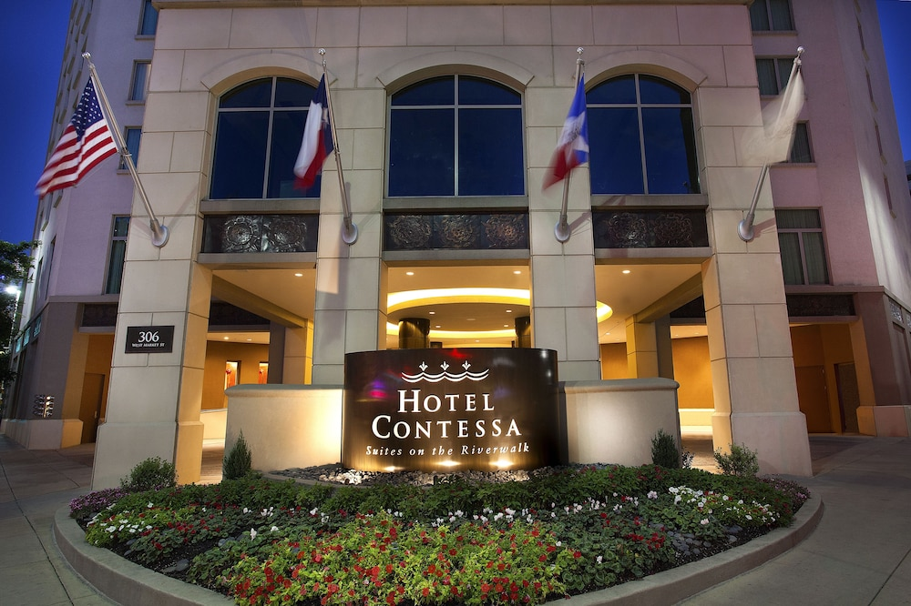 Front of Property - Evening/Night, Hotel Contessa - Luxury Suites on the Riverwalk