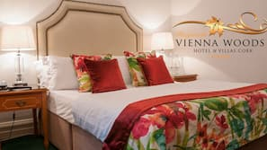 Premium bedding, desk, iron/ironing board, free WiFi