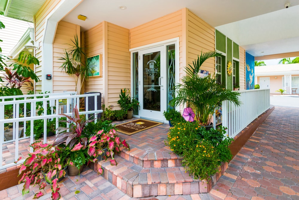 Property Entrance, Tropical Beach Resorts