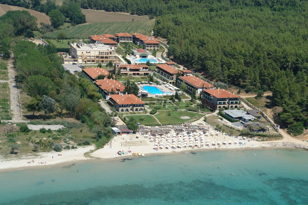 Aerial View, GΗotels Simantro Beach