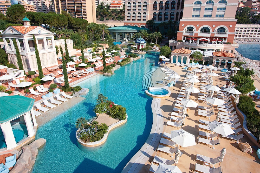 Pool, Monte-Carlo Bay Hotel & Resort