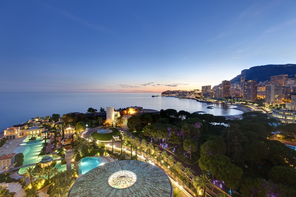 Aerial View, Monte-Carlo Bay Hotel & Resort