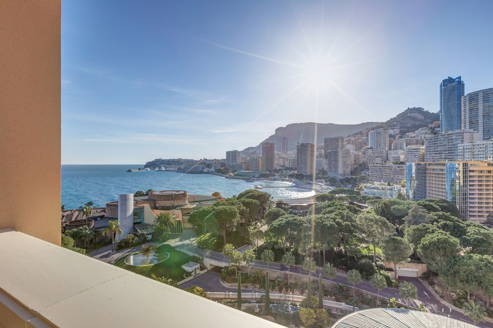 View from Room, Monte-Carlo Bay Hotel & Resort